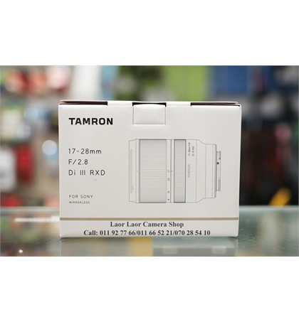 Tamron 17-28mm for Sony (New)