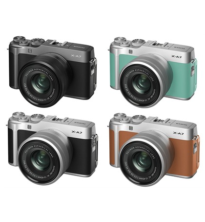 Fuji X-A7 kit 15-45mm (New) In stock