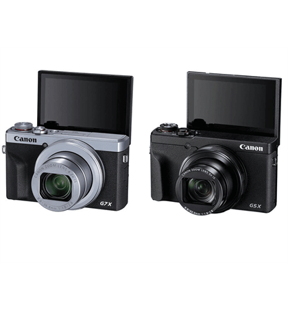 Canon G7X III 4K  Black and Sliver (In stock)