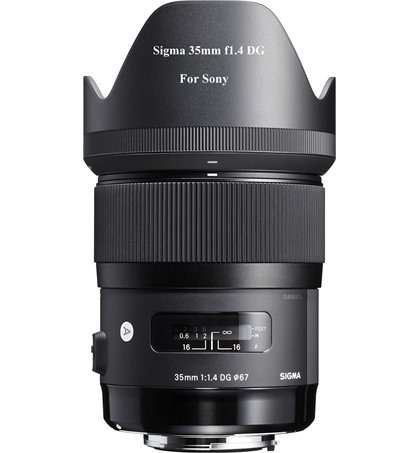 Sigma 35mm f1.4 DG for Sony (New)