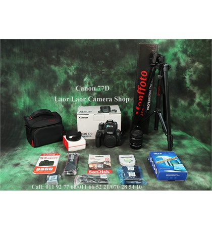 Canon EOS 77D kit 18-55mm (New) set