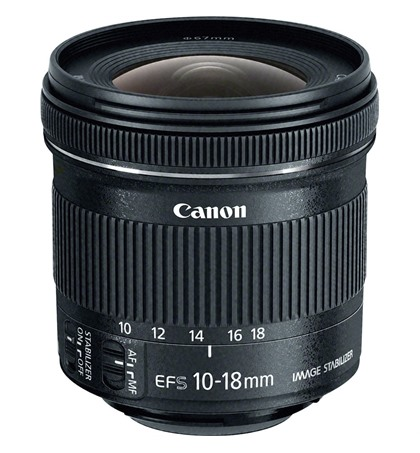 Canon EF-S 10-18mm f4.5-5.6 IS STM (New)