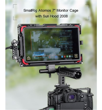 SmallRig Atomos 7'' Cage with Sunhood 2008