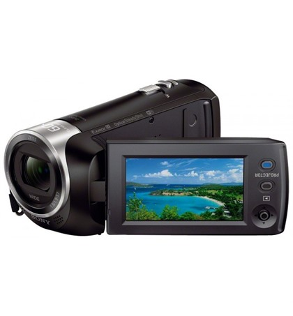 Sony HDRPJ410 HD Handycam with Built-In Projector