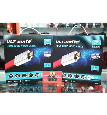ULT-unite HDMI Audio Video Cable 2Kx4K 5m and 10m