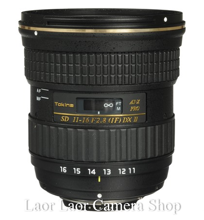 Tokina 11-16mm f/2.8 AT-X 116 PRO DX-II for Canon (New)