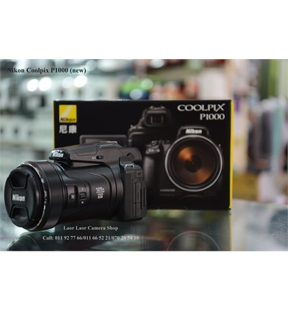 Nikon Coolpix P1000 (New)