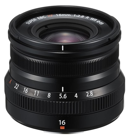Fuji XF16mm f2.8 (new)
