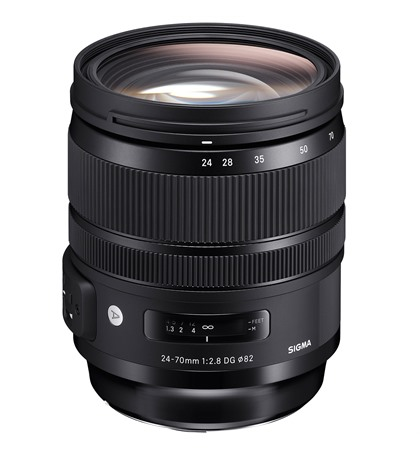 Sigma 24-70mm F2.8 Art (ថ្មី) for Canon