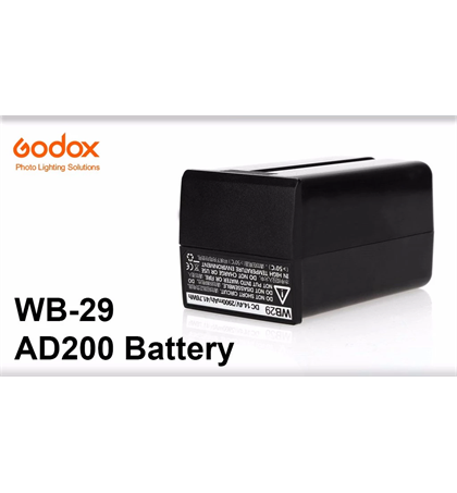 Godox Battery WB29  for AD200