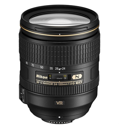 Nikon 24-120mm F/4G ED VR (new)