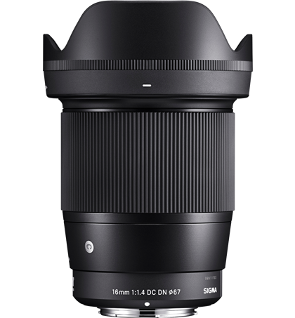 Sigma 16mm F1.4 DC DN (New) for Sony