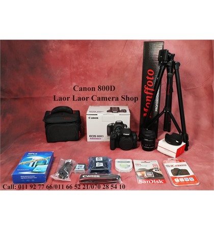 Canon EOS 800D kit 18-55mm (New) Set