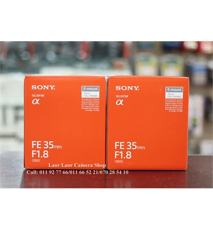 Sony FE35mm F1.8 (New)