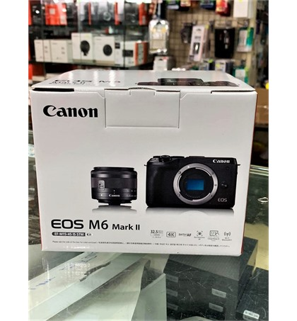 Canon EOS M6 mark II (New)