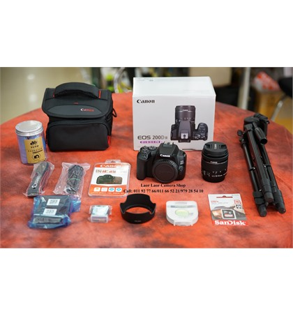 Canon EOS 200D II kit 18-55mm (New) Set
