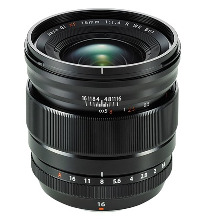 Fuji XF16mm f1.4 (New)