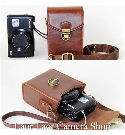 Leather Case for Mirrorless Camera (bag)