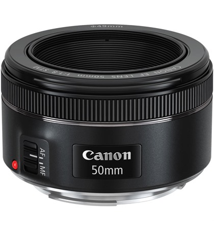 Canon EF 50mm F1.8 STM (New)