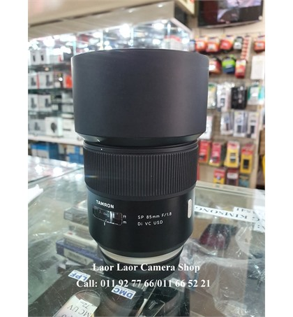 TAMRON 85mm f 1,8 for Canon (98%)