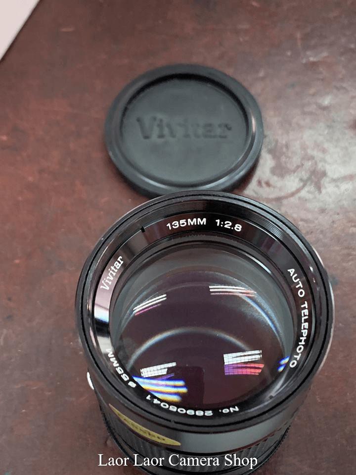 Vivitar 135mmf2,8  for nikon (95%) Manual lens - Laor Laor