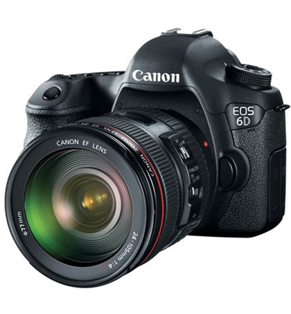 Canon EOS 6D kit 24-105mm f4 (new)