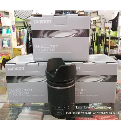Tamron 18-200mm (new) for Sony E-Mount