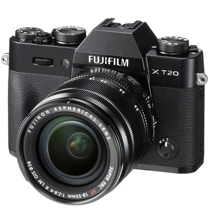 Fuji x-t20 kit  XF18-55mm f2.8-4 RLM OIS (new)