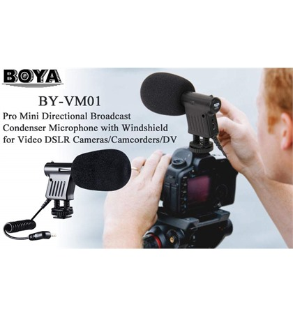 Microphone Boya BY-VM01
