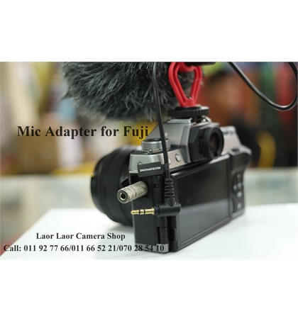 Mic Adapter for Fuji