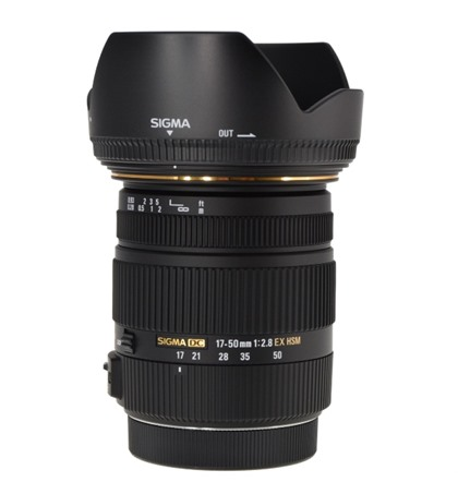 Sigma 17-50mm f2.8 EX DC OS (New) for Canon & Nikon