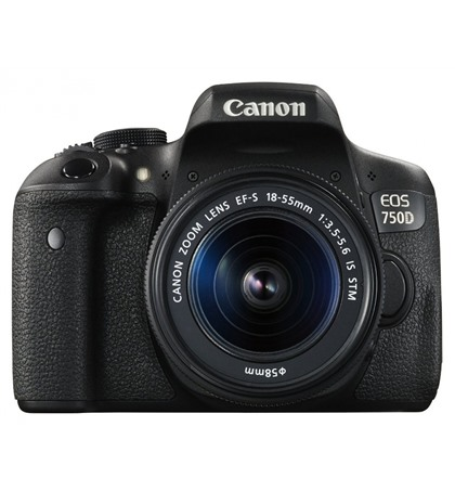 Canon EOS 750D + 18-55mm (New)