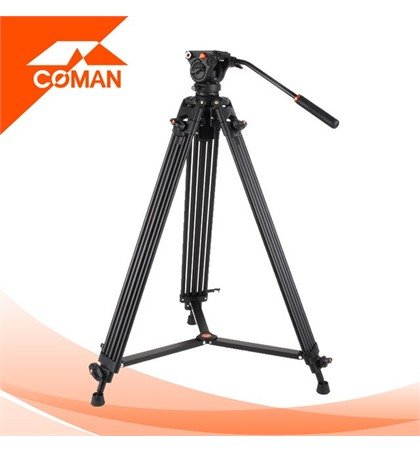 Video Tripod Coman DX-16L Aluminum