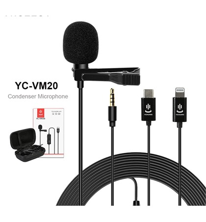 Microphone YC-VM30 for Android Type C