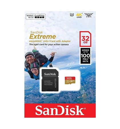 Micro SD Card 32GB Speed 100MB/s 4K