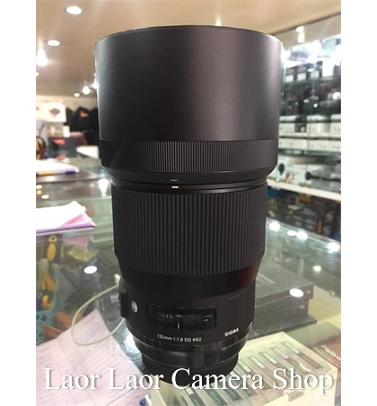 Sigma 135mm f1.8 (95%) for Canon