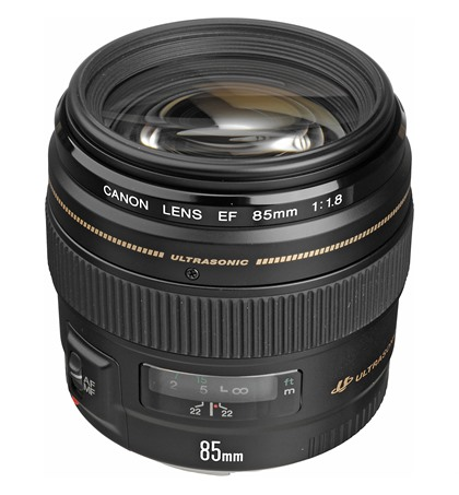 Canon EF 85mm F1.8 USM (New)
