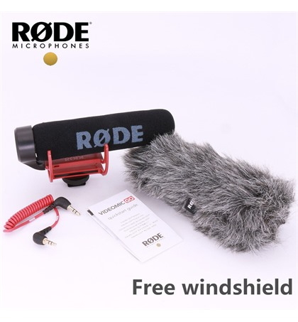 Microphone Rode Mic Go free Windshield (Original)