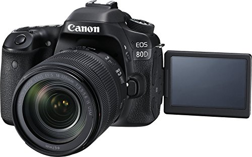 Canon EOS 80D kit 18-135mm USM (New)