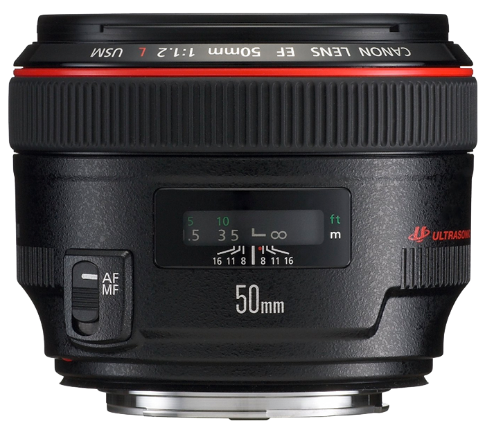 Canon EF 50mm f1.2 L USM (New)