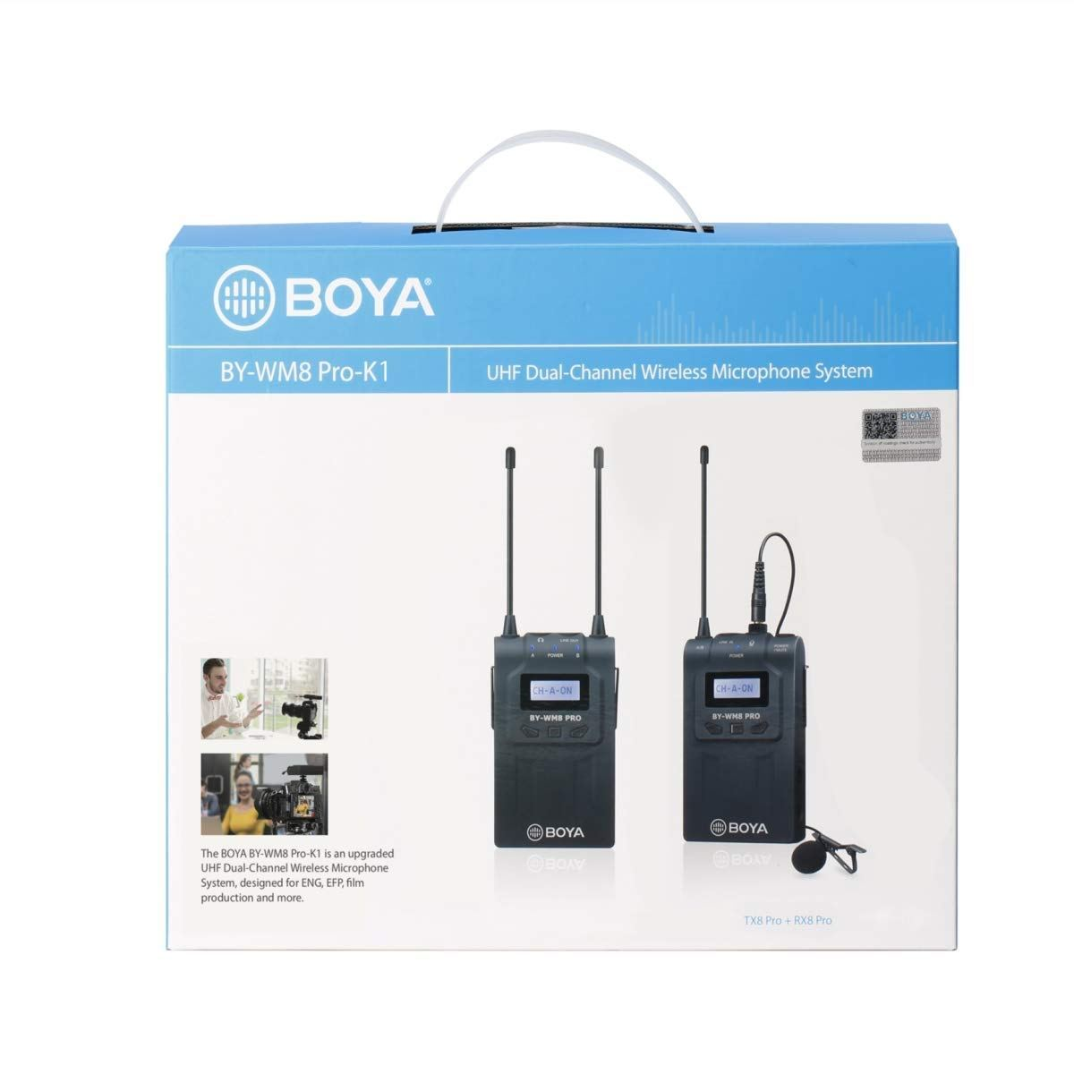 Boya BYWM8 Pro K1 Wireless Microphone