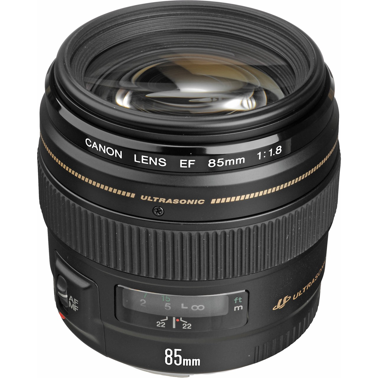 Canon EF 85mm f/1.8 USM (New)